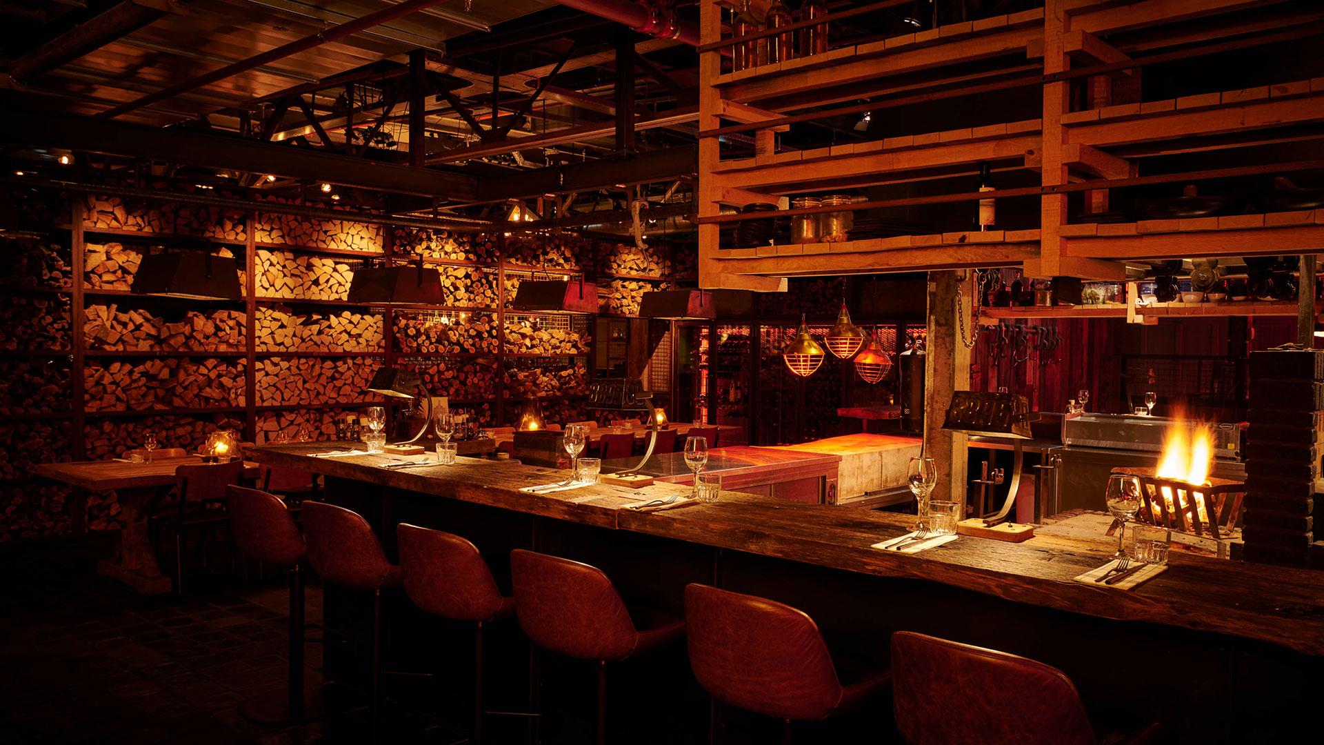 Hot seats en chefs table